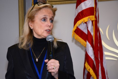 U.S. Congresswoman Debbie Dingell spoke to the attendees.